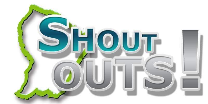 Shout Outs !
